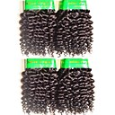 זול שזירה Remy  משיער אנושי-שיער בתולי מתולתל / קלאסי 400 g 12 חודשים יומי