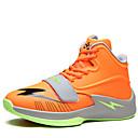 זול נעלי ספורט לגברים-בגדי ריקוד גברים PU אביב / סתיו נוחות נעלי אתלטיקה שחור / כתום / אדום / כדורסל