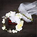זול עגילים-אחר חומר עם תחרה 1pc חתונה כיסוי ראש