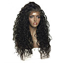cheap Human Hair Wigs-Human Hair Glueless Lace Front Lace Front Wig Brazilian Hair Water Wave Wig 130% Density with Baby Hair Natural Hairline African American Wig 100% Virgin Unprocessed Women's Short Medium Length Long