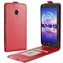 cheap Cell Phone Cases & Screen Protectors-Case For Alcatel alcatel U5 4G alcatel A7 Card Holder Flip Full Body Cases Solid Color Hard PU Leather for Alcatel U5 HD Alcatel U5 4G