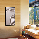 tanie Naklejki ścienne-Kształty Obraz olejny Wall Art,Polistyren Materiał z ramą For Dekoracja domowa rama Art Jadalnia