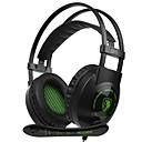 זול Headsets & Headphones-SADES SA-801 רצועת ראש חוטי אוזניות דִינָמִי פלסטי גיימינג אֹזְנִיָה עם מיקרופון אוזניות