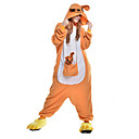 cheap Religious Jewelry-Kigurumi Pajamas Kangaroo Onesie Pajamas Costume Polar Fleece / Synthetic Fiber Orange Cosplay For Adults' Animal Sleepwear Cartoon