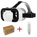 billige VR-briller-vr shinecon 5.0 glass virtuell virkelighet vr boks 3d briller for 4,7 - 6,0 tommers telefon med kontroller
