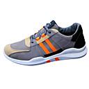 رخيصةأون أحذية أوكسفورد للرجال-للرجال جلد نوباك / PU ربيع / خريف مريح أحذية رياضية بلوك ألوان برتقالي / أخضر / أسود وأبيض / الركض
