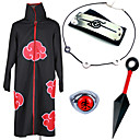 cheap Videogame Cosplay Accessories-Inspired by Naruto Akatsuki / Itachi Uchiha Anime Cosplay Costumes Cosplay Suits / Cosplay Accessories Anime Cloak / Necklace / Headband For Men's / Women's