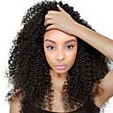 זול פיאות תחרה משיער אנושי-שיער אנושי חזית תחרה פאה שיער מלזי Kinky Curly פאה עם שיער תינוקות 120% שיער טבעי קצר / בינוני / ארוך פיאות תחרה משיער אנושי / קינקי קרלי
