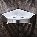 hesapli Banyo Rafları-Banyo Rafı Yüksek kalite Paslanmaz Çelik + A Sınıfı ABS 1 parça - Otel banyo