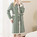 preiswerte Bademäntel-Frischer Stil Bademantel, Solide Gehobene Qualität 100% Polyester Baumwolle/Polyester Handtuch
