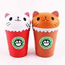 זול מפיגי מתח-LT.Squishies צעצוע מעיכה / מקל מתחים מזון ומשקאות / חתול / חיה הקלה על ADD, ADHD, חרדה, אוטיזם / Office צעצועים במשרד / הפגת מתחים וחרדה