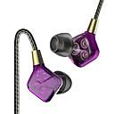 billige Stativer og holdere-PHB EP016 I øret Med ledning Hodetelefoner dynamisk Plast Pro Audio øretelefon Med volumkontroll / Med mikrofon Headset