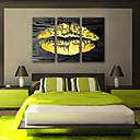 cheap Prints-Canvas Print Rustic Modern, Three Panels Canvas Vertical Print Wall Decor Home Decoration