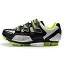 ieftine Kit Începător Tatuaj-Tiebao® Adulți Pantofi de Mountain Bike Nylon, fibră de sticlă, orificii pentru fluxul de aer, bandă antialunecare / Fibra de carbon Anti-Alunecare, Respirabil Ciclism Verde și Negru Bărbați