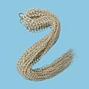 voordelige Haarvlechten-Vlechthaar Gekruld / Afro / Box Braids Twist Vlechten 1pack haar Vlechten Lang nieuwe collectie / Afrikaanse vlechten