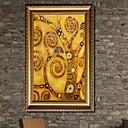 ieftine Sus Artist-Romantic Ilustrație Wall Art,Aliaj de Aluminiu Material cu Frame For Pagina de decorare cadru Art Sufragerie