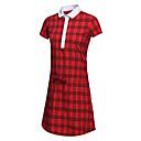 זול בגדי גולף-בגדי ריקוד נשים גולף שמלות ייבוש מהיר עמיד לביש נשימה גולף פעילות חוץ