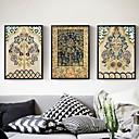 זול אומנות ממוסגרת-סגנון גן ציור שמן וול ארט,סגסוגת אלומיניום חוֹמֶר עם מסגרת For קישוט הבית אמנות מסגרת סלון פנימי