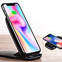 זול מטען כבלים ומתאמים-עמדה עם הטענה / מטען אלחוטי מטען USB USB מטען אלחוטי / Qi 1חיבורUSB 2 A ל iPhone 8 Plus / iPhone 8 / S8
