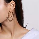 ieftine Cercei la Modă-Pentru femei Cercei Picătură - Modă Auriu / Argintiu Pentru Zilnic Măr