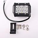 זול פנסים-אור LED LED 5500lm 6 מצב תאורה יציבות / הליכה / IP67 מחנאות / צעידות / טיולי מערות / שימוש יומיומי / צלילה / שייט בורדו