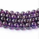 cheap Doll Houses-DIY Jewelry 45 pcs Beads Crystal Purple Round Bead 0.8 cm DIY Necklace Bracelet