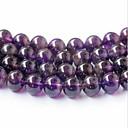 זול חרוזים-תכשיטים DIY 45 יח חרוזים קריסטל סגול עגול חָרוּז 0.8 cm עשה זאת בעצמך שרשראות צמידים