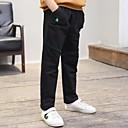 tanie Kurtki i płaszcze dla chłopców-Dzieci Dla chłopców Aktywny Solidne kolory / Prosty / Haft Bawełna Spodnie