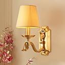 baratos Acessórios de Iluminação-Proteção para os Olhos Luminárias de parede Sala de Estar Tecido Luz de parede 220V 40 W / E14
