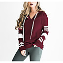 cheap Necklaces-Women's Cotton Hoodie - Solid Colored / Spring