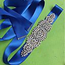 זול טבעות-סטן\טול חתונה / אירוע מיוחד אבנט עם דמוי פנינה / קריסטלים / אבנים נוצצות בגדי ריקוד נשים אבנטים