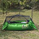 זול אוהלים וסככות-1 אדם אוהל עם הצללה שכבה בודדה עמוד Dome קמפינג אוהל חיצוני עמיד, קיפול ל מחנאות וטיולים / פיקניק <1000 mm אל חלד 240 cm