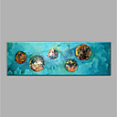 cheap Prints-Oil Painting Hand Painted - Abstract Modern Rolled Canvas