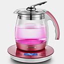 זול מכשירים למטבח-קומקום זכוכית LCD תנורי מים 220V 800W מכשיר מטבח