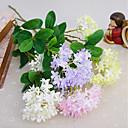 זול פרחים מלאכותיים-פרחים מלאכותיים 1 ענף פסטורלי סגנון יקינתון פרחים לשולחן