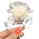 "baratos Bouquets de Noiva-Bouquets de Noiva Alfinetes de Lapela Casamento Festa/Eventos Cetim 2.76""(Aprox.7cm)"