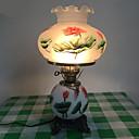 זול מנורות שולחן-מסורתי / קלסי דקורטיבי מנורת שולחן עבור חדר שינה קרמיקה 220V