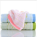 abordables Toalla de Cara-Calidad superior Toalla de Cara, Un Color 100% algodón Baño