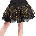 cheap Latin Dance Wear-Latin Dance Bottoms Women's Training Polyester Lace Pattern / Print Split Joint Dropped Skirts
