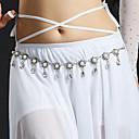 זול אביזרי ריקוד-ריקוד בטן רגיל בגדי ריקוד נשים הדרכה פוליאסטר דמוי פנינה חגורה אביזר למותניים