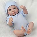 זול בובות-NPK DOLL בובה מחדש תינוק 12 אִינְטשׁ גוף מלא סיליקון סיליקון ויניל - כְּמוֹ בַּחַיִים Cute עבודת יד בטוח לשימוש ילדים Non Toxic חמוד הילד של בנים / בנות צעצועים מתנות / אינטראקציה בין הורים לילד / CE