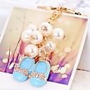 זול מזכרות מחזיקי מפתחות-רומנטיקה / חתונה / יומהולדת מצדדים במחזיק מפתחות סגסוגת אבץ מזכרות מחזיקי מפתחות - 1 pcs