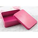 זול קופסאות למתנות ומזכרות-דמוי קוביה ברזל (ניקל מצופה) מחזיק לטובת עם דוגמא \ הדפס קופסאות קישוט - 1pc