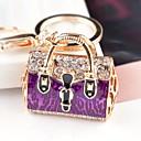 זול מזכרות מחזיקי מפתחות-חתונה / חברים / יומהולדת מצדדים במחזיק מפתחות סגסוגת אבץ מזכרות מחזיקי מפתחות - 1 pcs כל העונות
