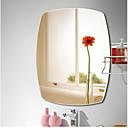 זול וילונות מקלחת-מראה עכשווי זכוכית משוריינת יחידה 1 - מראה אביזרי מקלחת / מוברש