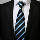 זול סטים של תכשיטים-עניבת צווארון - פסים עבודה יום יומי בגדי ריקוד גברים