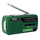 olcso Rádió-DE13 FM hang beállítható Világvevõ Zöld