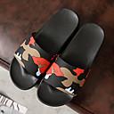 זול נעליי בית-רגיל כפכפי אורחים נעלי בית כפכפי נשים כפכפי גברים פלסטיק Plastic גומי צבע אחיד