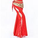 abordables Accesorios de Baile-Danza del Vientre Pantalones y Faldas Mujer Entrenamiento / Rendimiento Poliéster Encaje / Separado Cintura Alta Pantalones