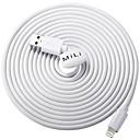 tanie Kable i Ładowarka-Oświetlenie Adapter kabla USB Wysoka prędkość / Szybka opłata Kable Na iPhone 300 cm Na PVC